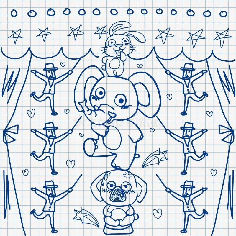 Download Notebook paper doodles stock vector. Image of notebook - 32040433