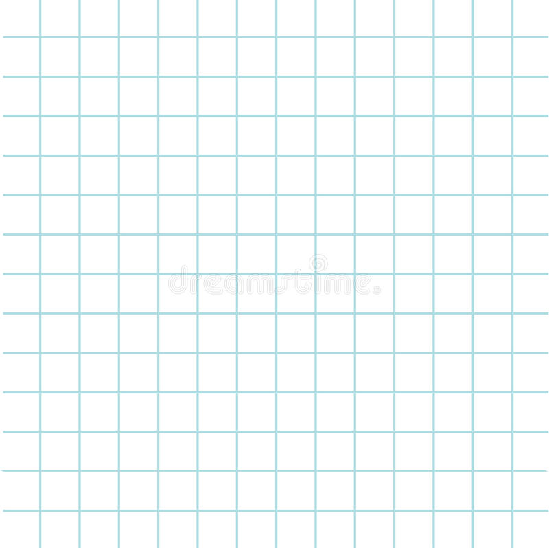 Notebook Paper Texture Cell Template. Squared Blank Sheet Of ...
