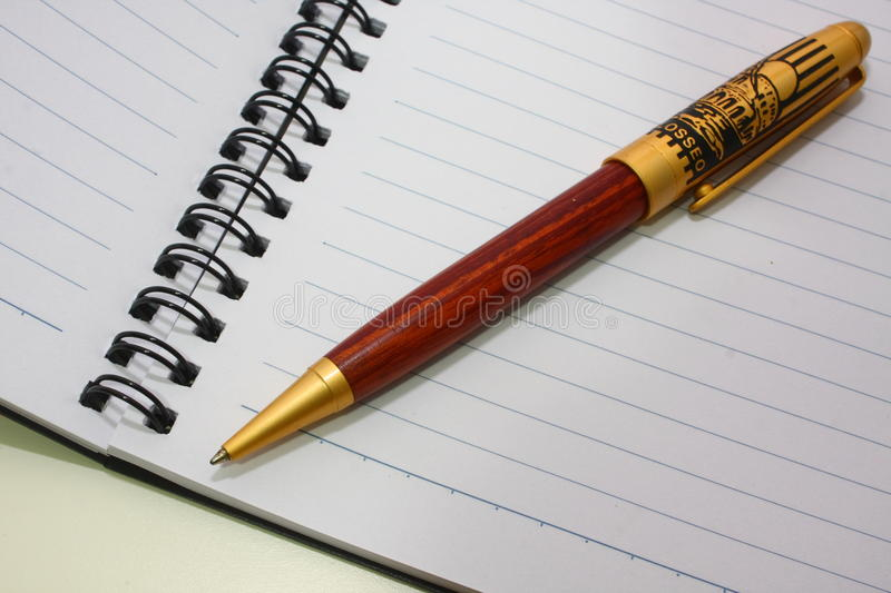 Download Notebook and pen stock photo. Image of image, analyzing - 17156836