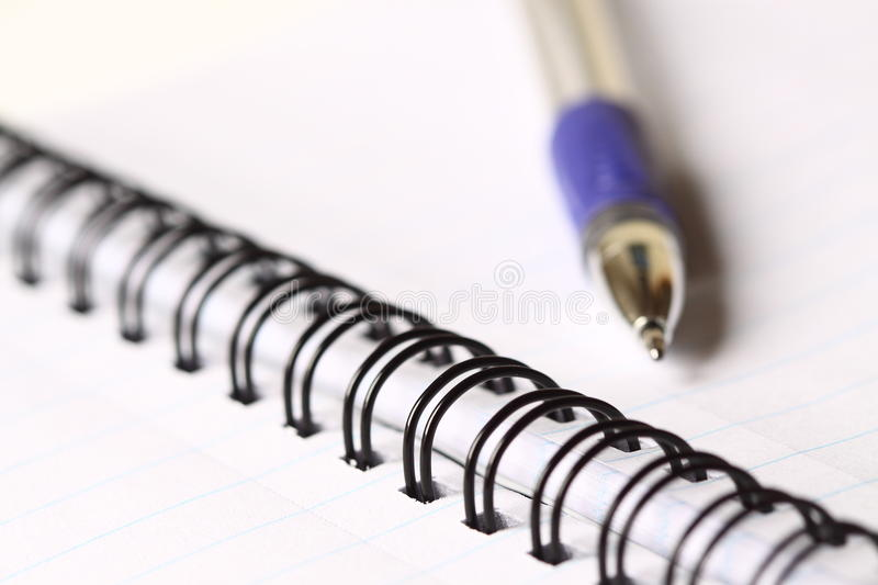 Download Notebook With Pen Stock Photos - Image: 18183763