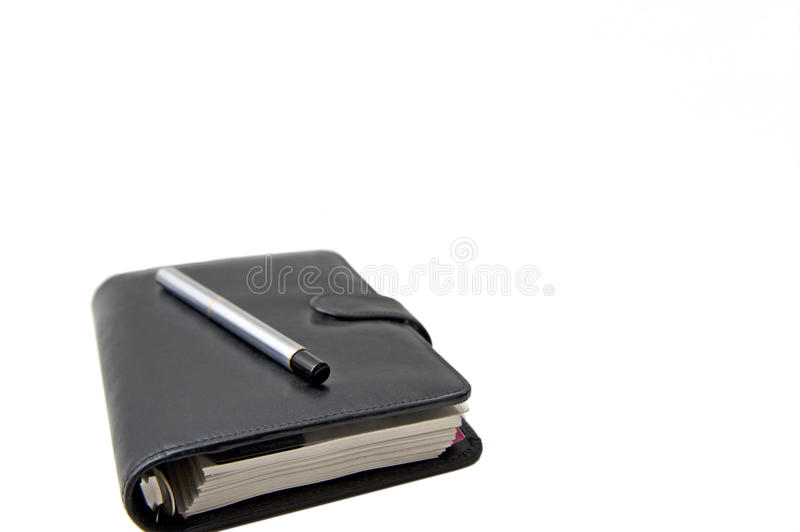 Download Notebook and pen stock image. Image of page, business - 22462607