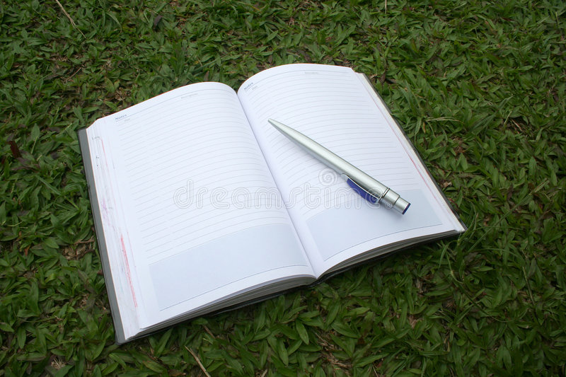 Download Notebook & pen stock image. Image of debt, book, notes - 896041