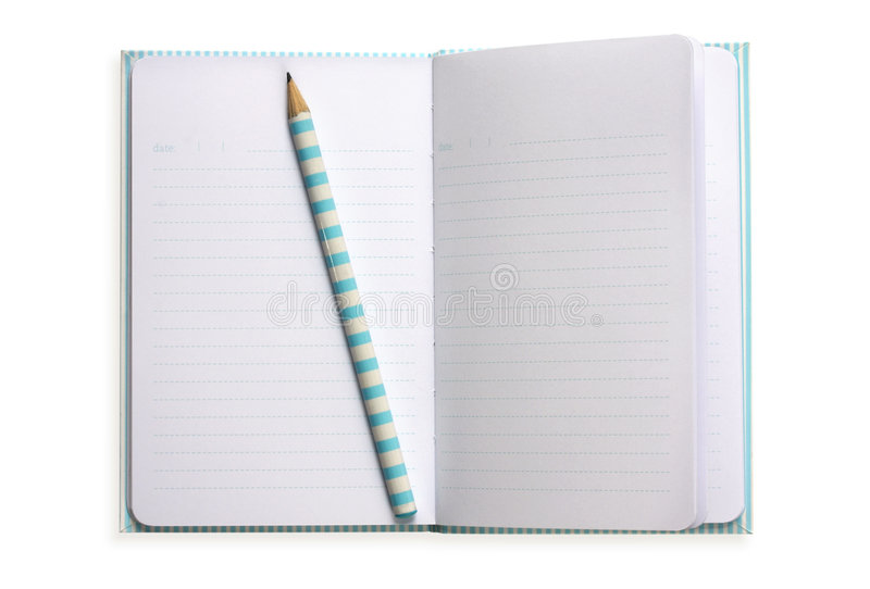 Download Notebook And Pencil Royalty Free Stock Photos - Image: 4816958