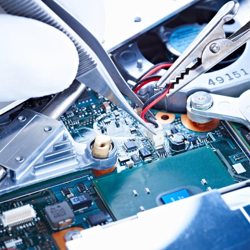 Notebook repair fan stock photos