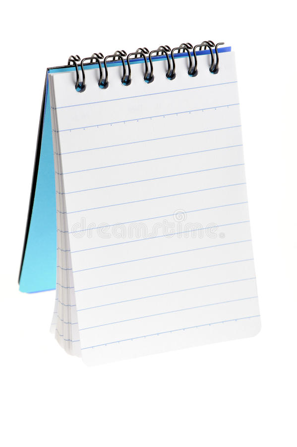 Notebook standing royalty free stock images