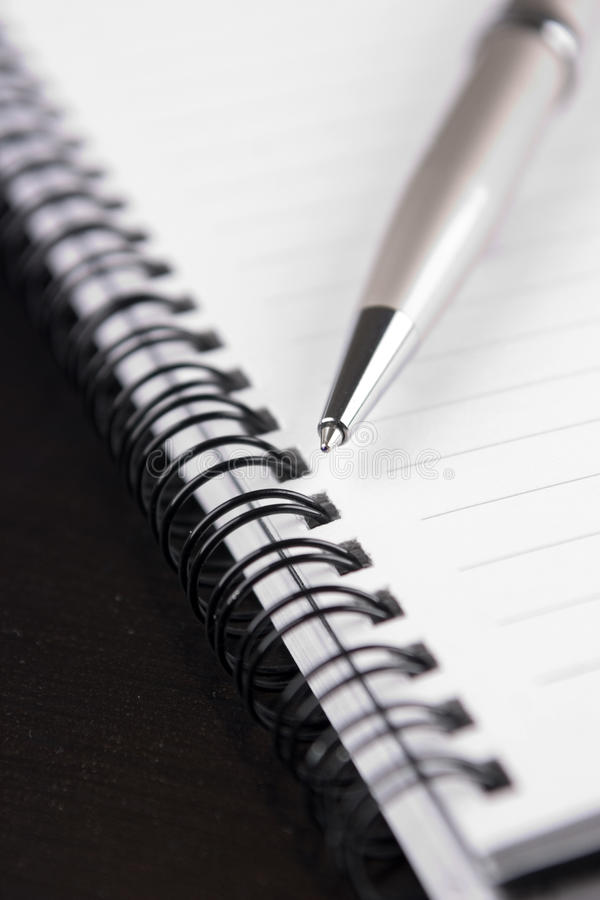 Download Notebook1 stock image. Image of ballpoint, write, education - 13160947