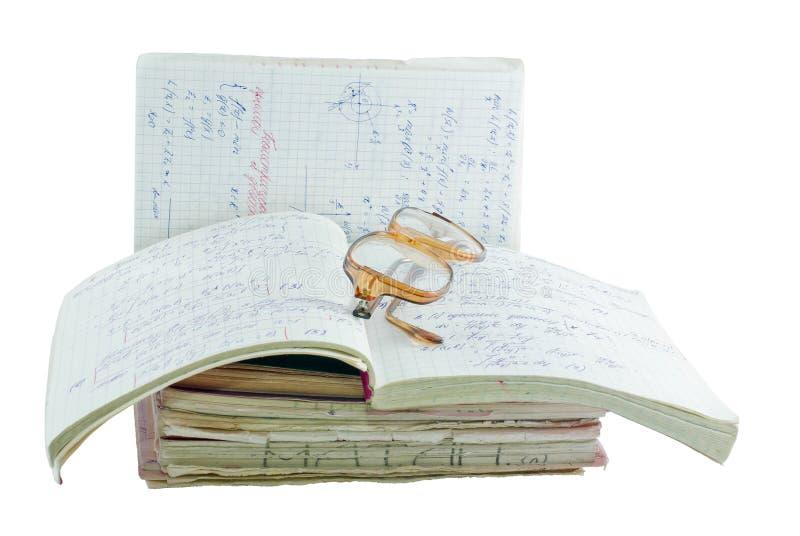 Notebooks of mathematician