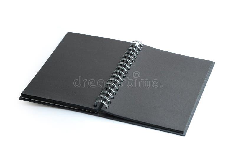 Notenook negro fotos de archivo libres de regalías