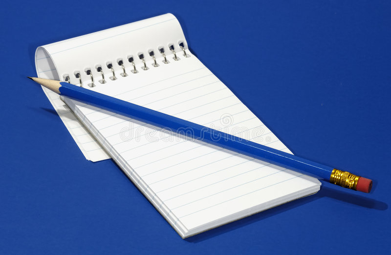 Notepad stock photography