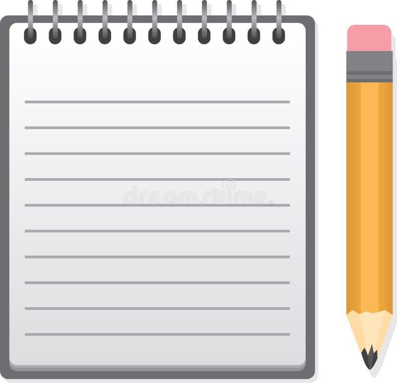 Download Notepad stock vector. Image of retro, memo, notebook - 28958083