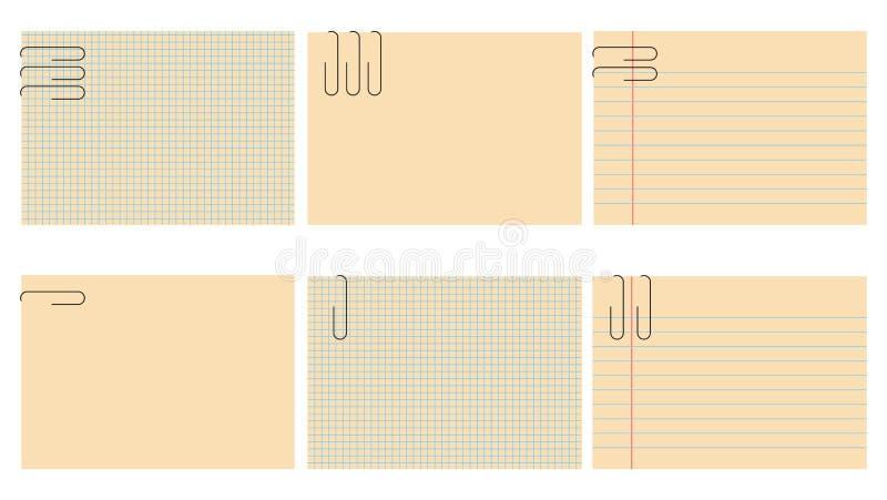 Notepad royalty ilustracja