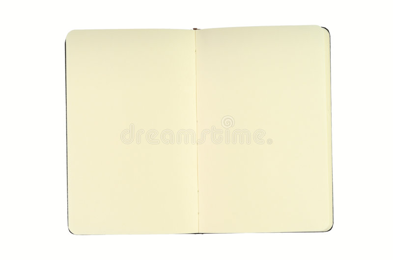 Notepad With Blank Pages royalty free stock image