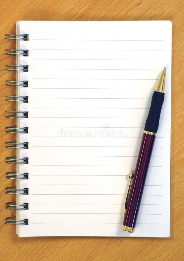 notepad długopis.