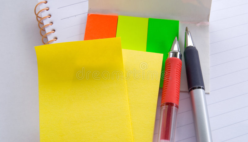 Download Notepad,memo And Pen Royalty Free Stock Photo - Image: 1663335