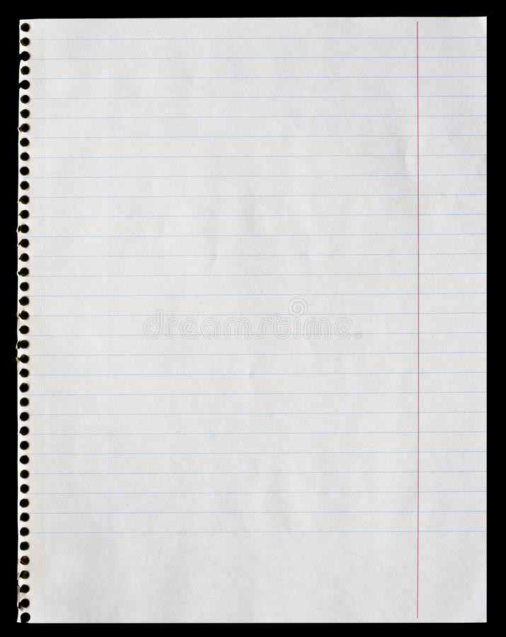 Notepad page stock images