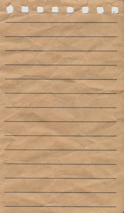 Notepad paper royalty free stock image