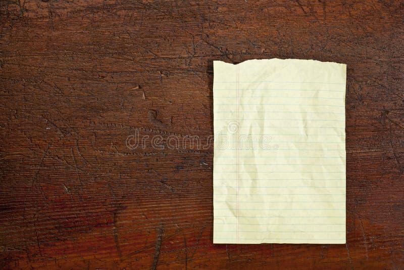 Notepad paper sheet