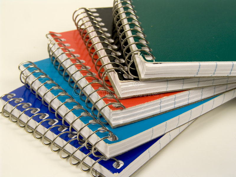 Download Notepads stock photo. Image of blue, orange, messages, paper - 13066