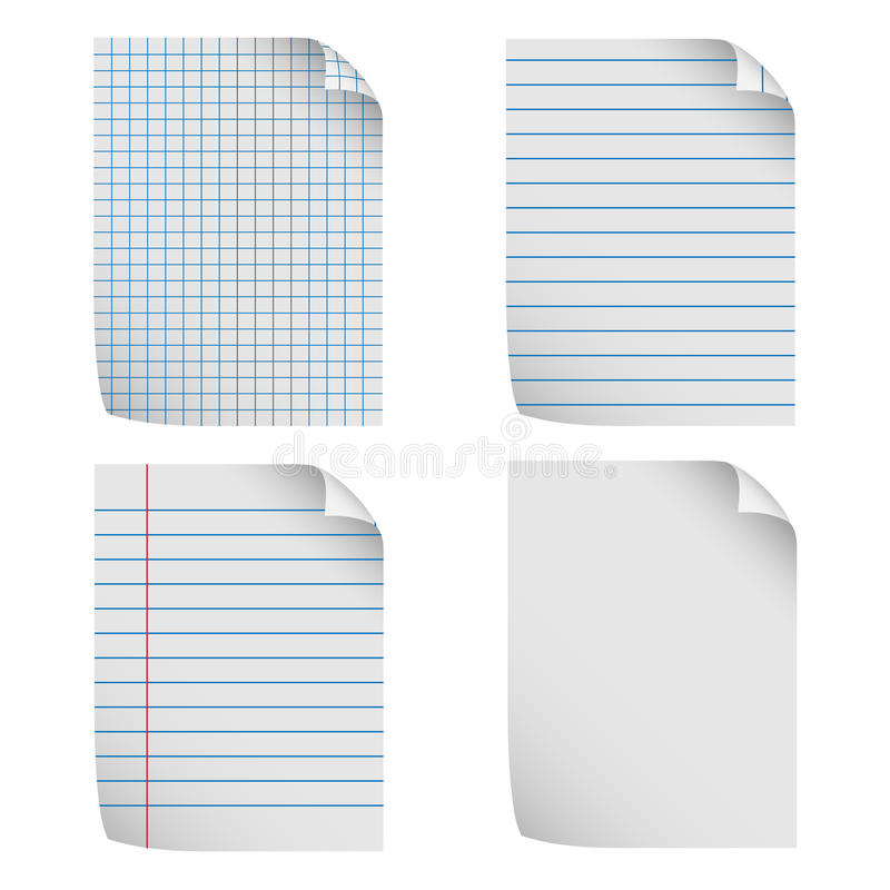 Notepaper Stock Image