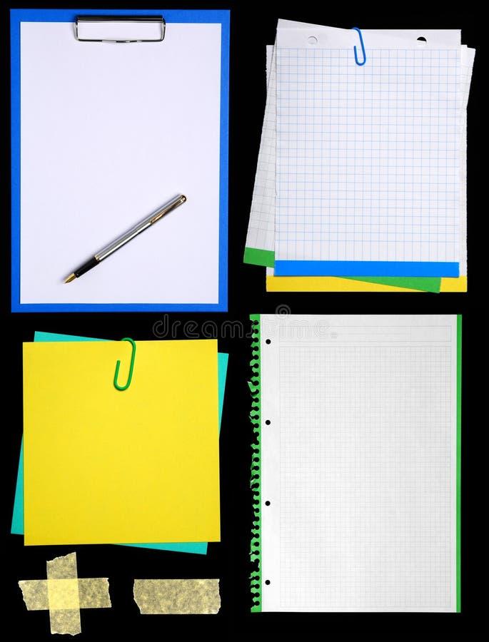 notepaper стоковое фото