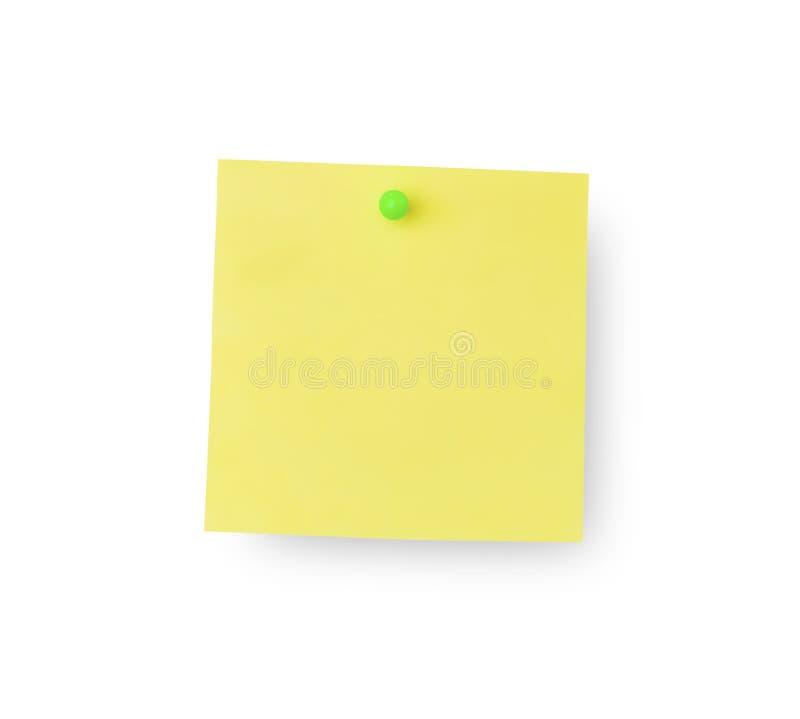 Notes collantes de note photos stock