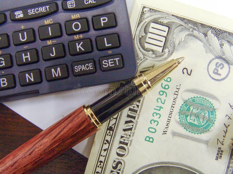 Notes d'argent de Dolar image libre de droits