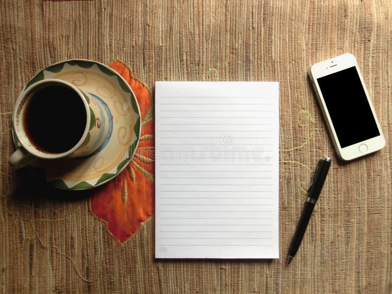 Notes de papier image stock
