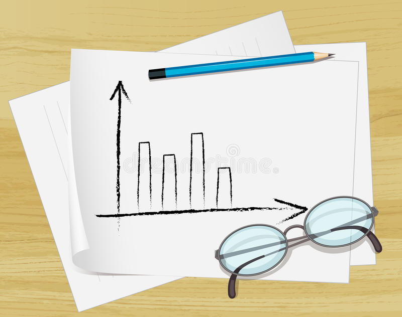 Download Notes On Paper Stock Image - Image: 25116741