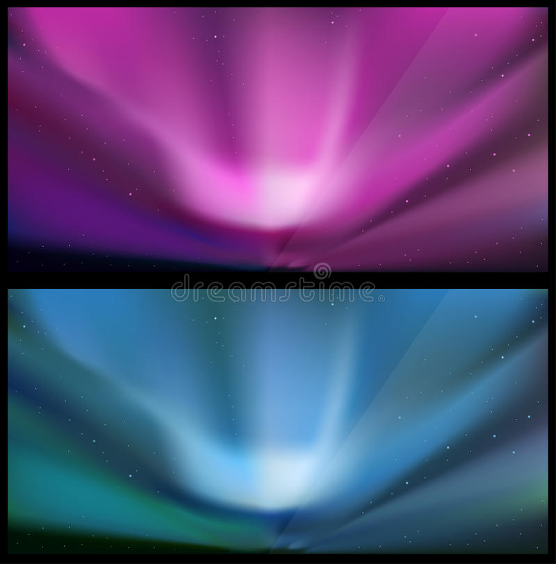 Download Nothern Blue Aurora Backgrounds. Stock Photography - Image: 18819232