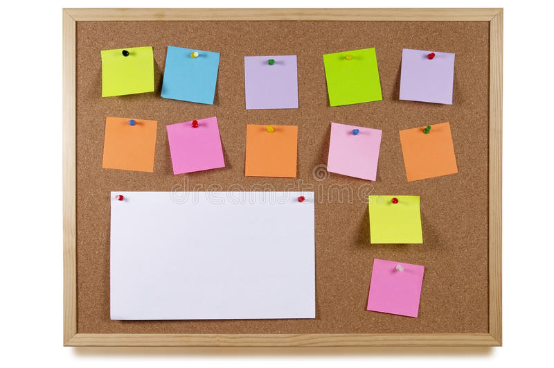 Download Notice board stock image. Image of notification, texture - 14949175
