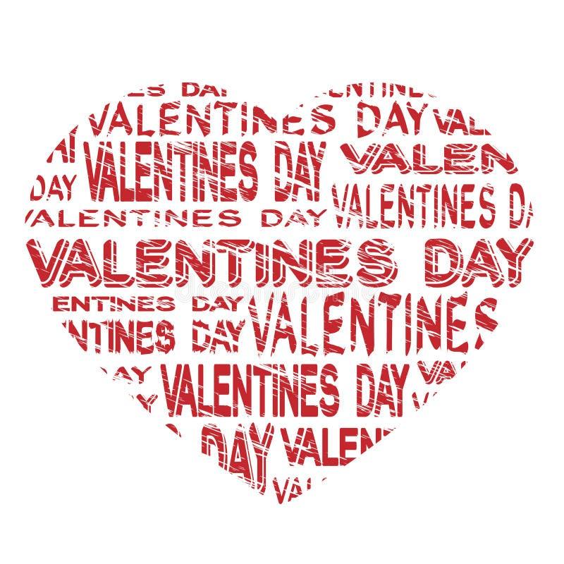 Notice board - valentines day grunge label royalty free illustration