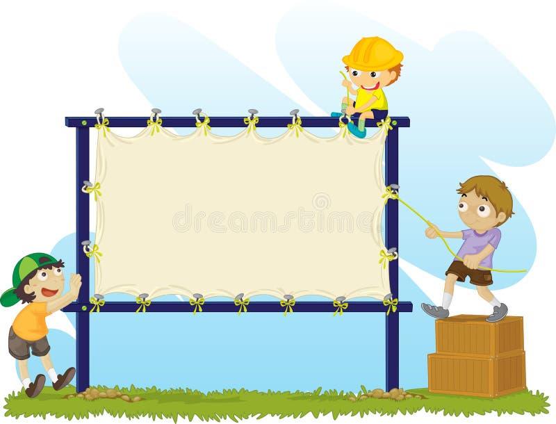 Noticeboard royalty illustrazione gratis