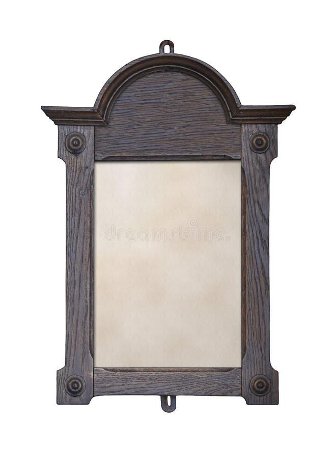 Noticeboard de madeira fotografia de stock royalty free