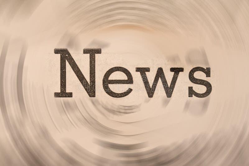 Noticias fotografía de archivo