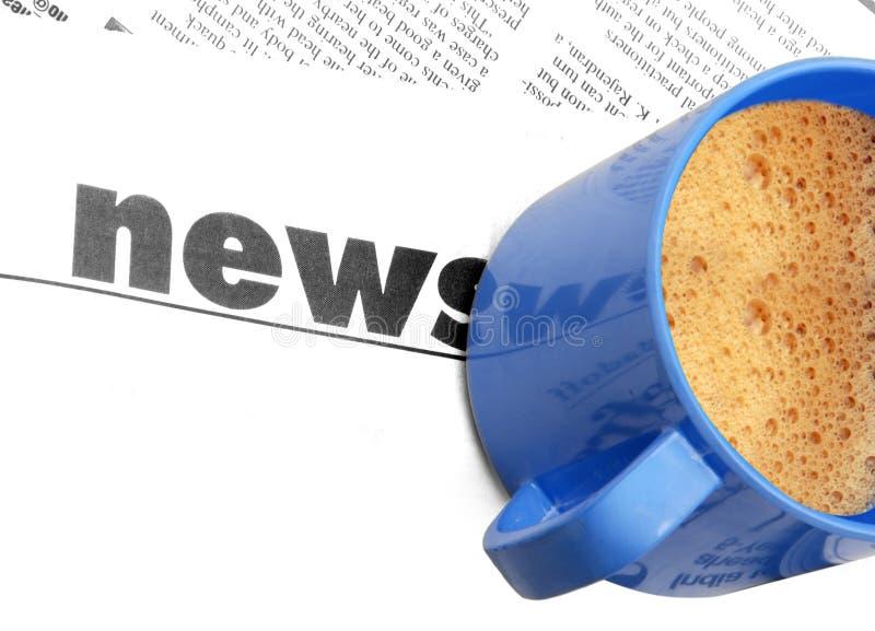 Noticias fotografía de archivo libre de regalías