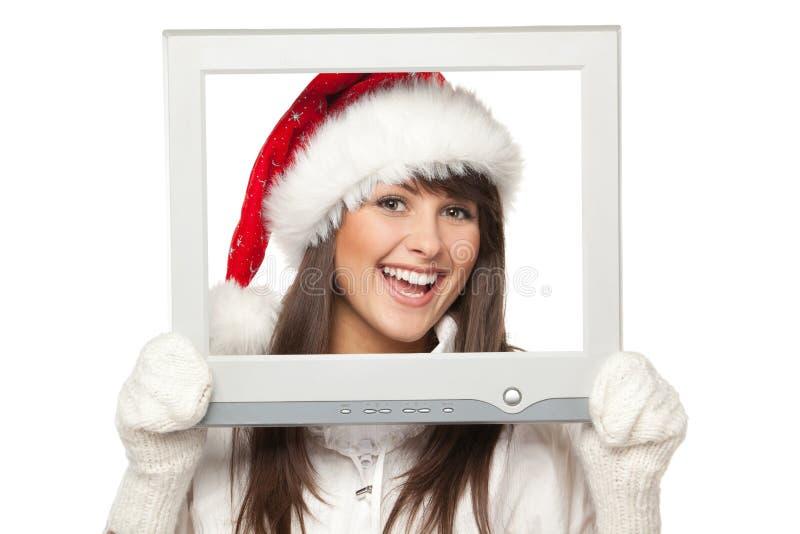 Noticias de la Navidad foto de archivo