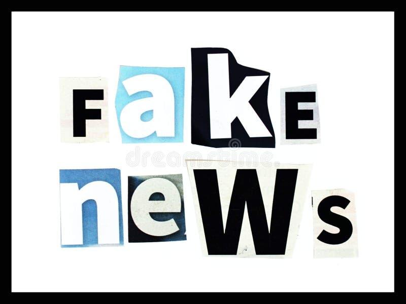 Noticias falsas fotos de archivo libres de regalías