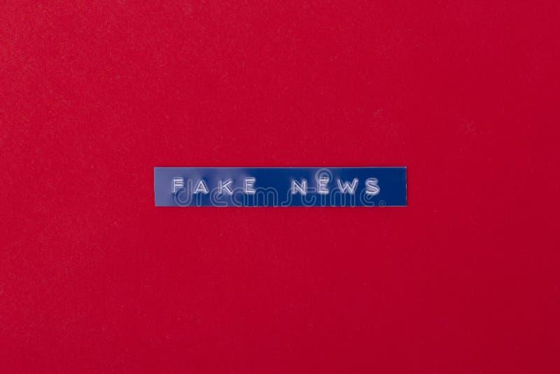 Noticias falsas foto de archivo libre de regalías