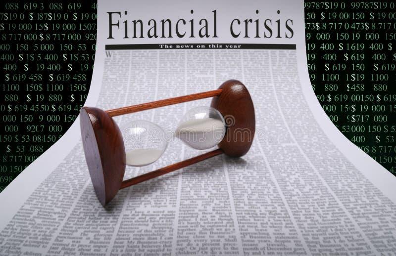 Noticias financieras fotos de archivo libres de regalías