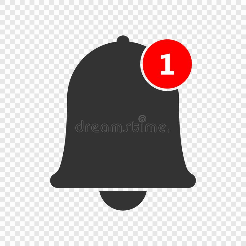Free Notification Bell Icon Stock Images - 125757524