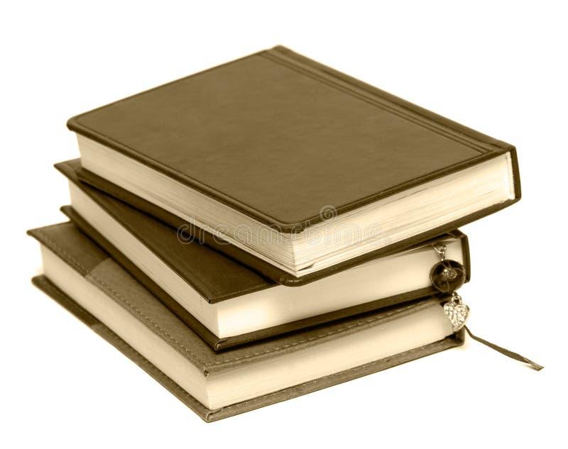 Notitieboekjes met referentie stock fotografie