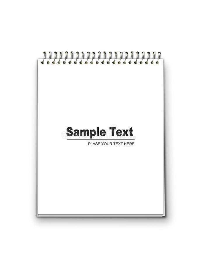 Notizblock lizenzfreie stockbilder