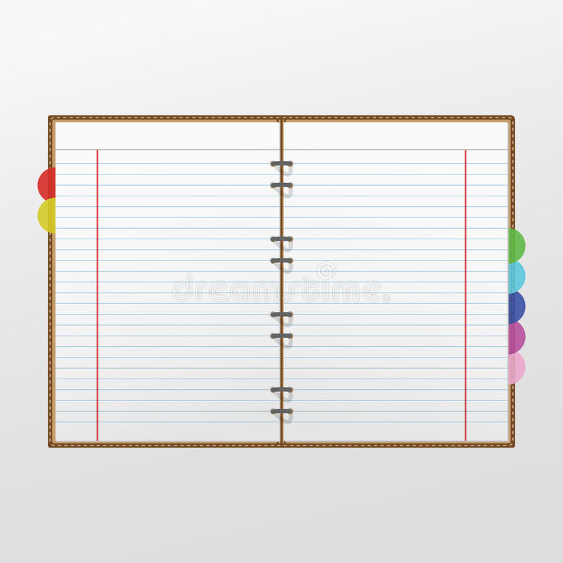 Notizbuch stockbilder