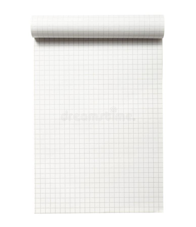 Notizbuch geöffnet lizenzfreie stockbilder