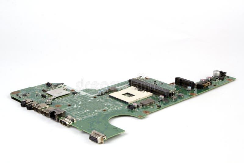 Notizbuch-PC-Motherboard stockfoto