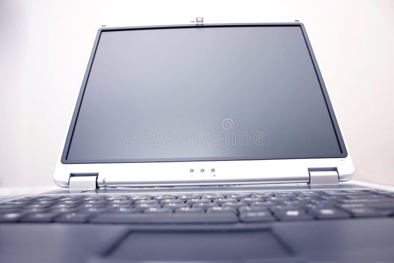 Notizbuchbildschirm stockfoto