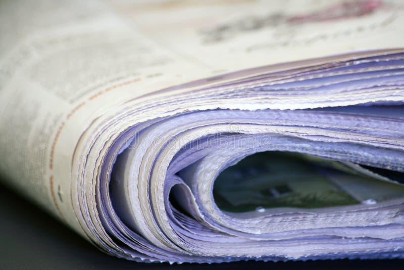 Notizie da leggere. fotografia stock libera da diritti