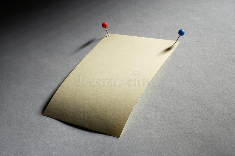 Download Notizzettel noticesheet стоковое фото. изображение насчитывающей извещение - 495068