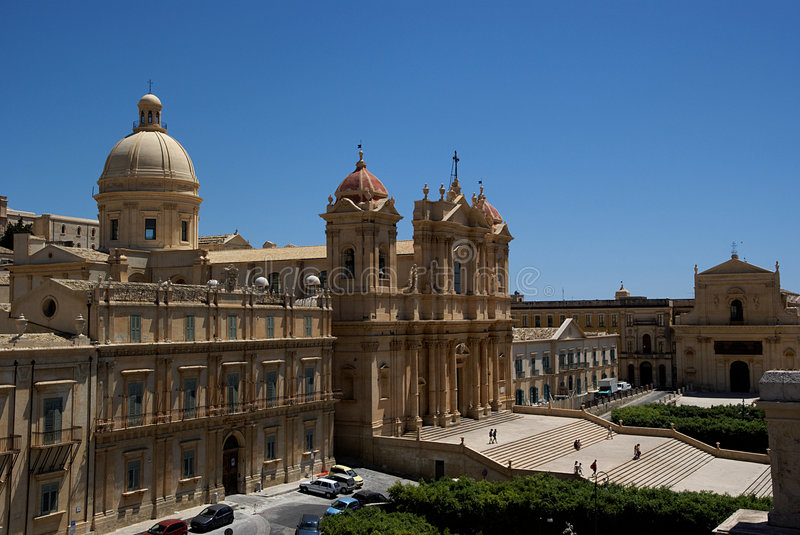 Download Noto Baroque Town, Sicily, Italy Stock Image - Image: 6237741