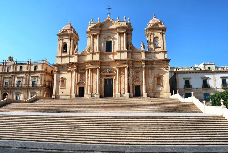 Noto - la Sicilia immagini stock